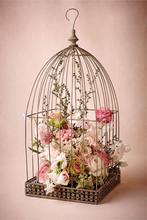 mariage-champetre-cage