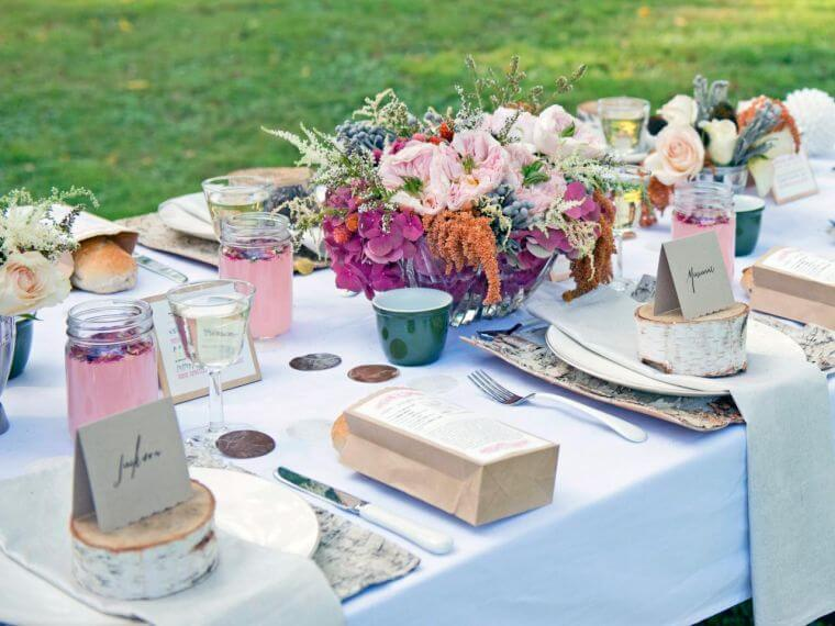 mariage-champêtre-table