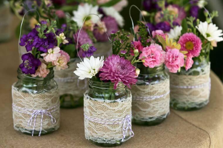 mariage-champêtre-fleurs