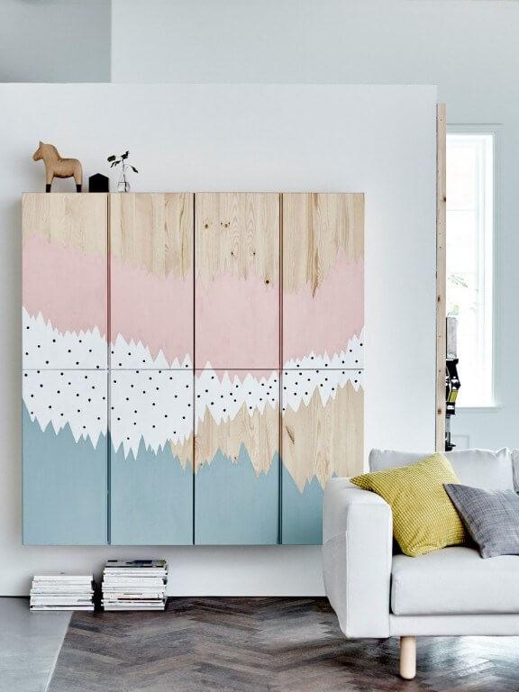 meuble-ikea-peinture