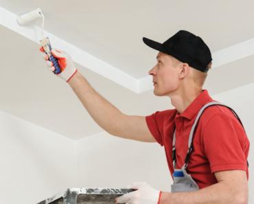 peindre-un-plafond