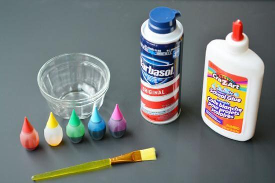 peinture-mousse-ingrédients