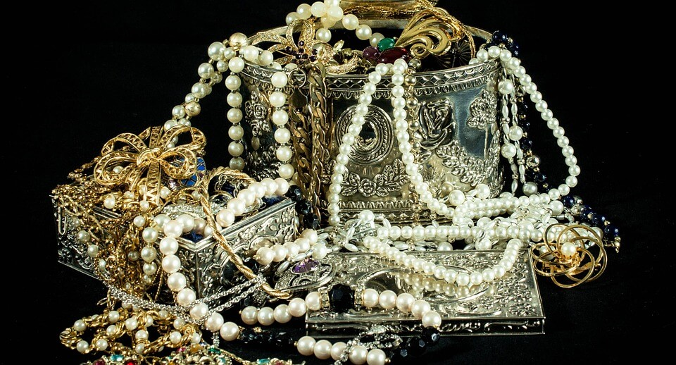 bijou en or-colliers
