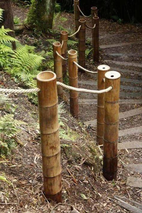 Bambou-garde-corps